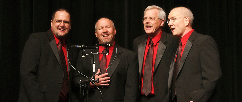Our Quartets Are Available to Sing at Your Event